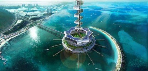 Kitekintő: Óceántisztító ökosziget a Karib-tengeren