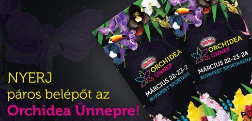 Varázslatos Orchidea Ünnep vár hétvégén a Budapest Arénában!