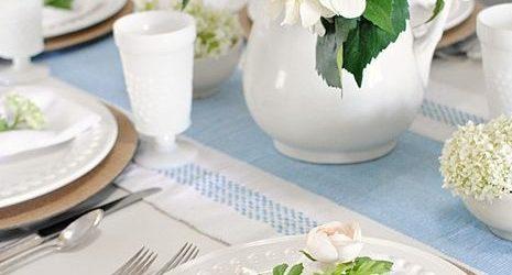 Ötlet Anyák napi asztaldekorációhoz