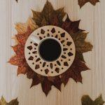 DIY: Őszi poháralátét készítése