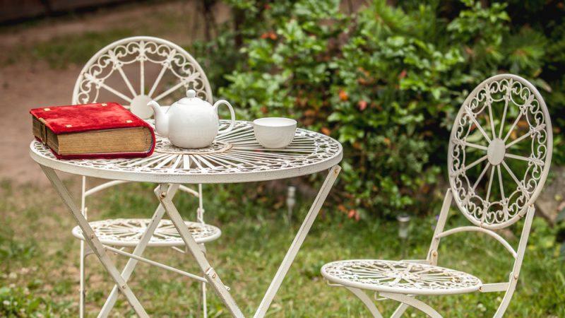 Alumínium kerti bútor: A gyönyörű kert kellékei