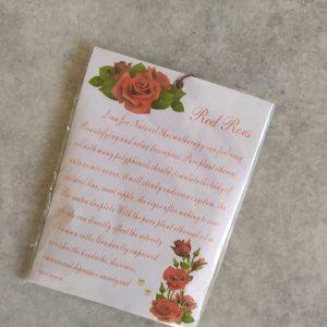 rózsás papírtasakos illatosító