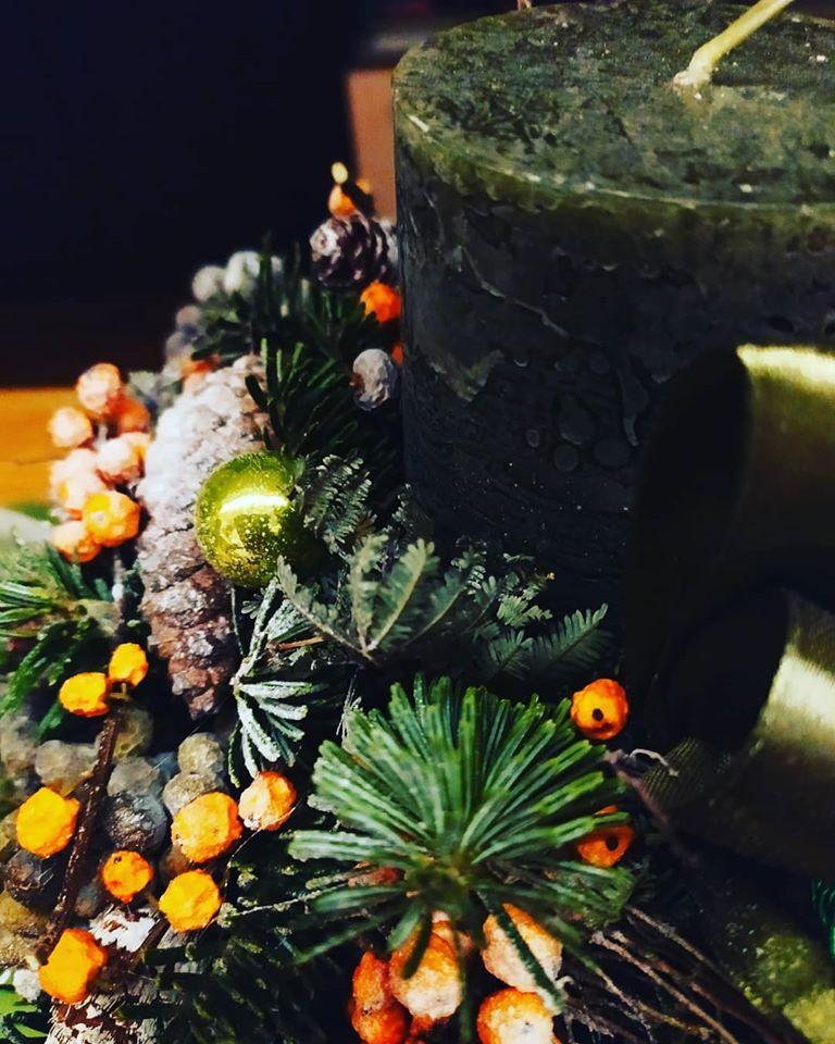 Karácsony után: Komposztálható-e az adventi koszorú?
