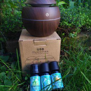 aromaterápiás kezdőkészlet