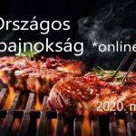 I. Országos Grillbajnokság *online