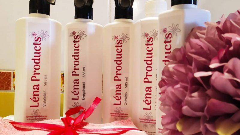 Termékteszt: Léna products tisztítószerek