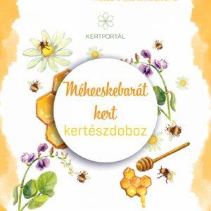 méhecskebarát kertészdoboz - borító