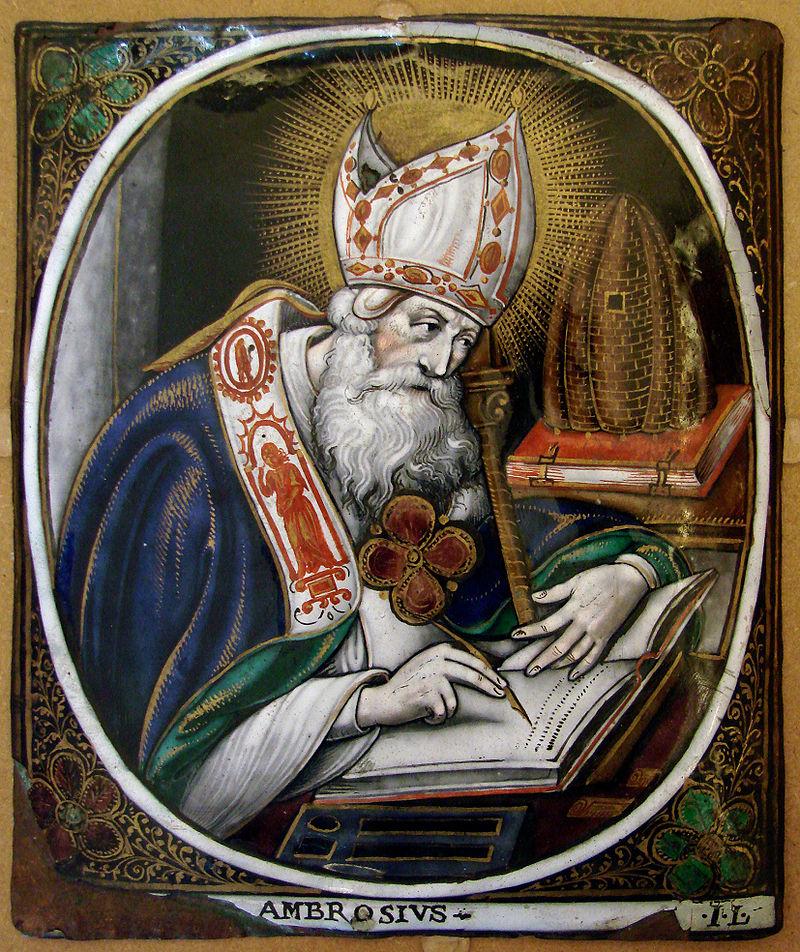 Parlagfű - Szent Ambrus Ambrosius