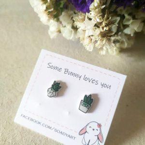 soadyart fülbevaló bunny