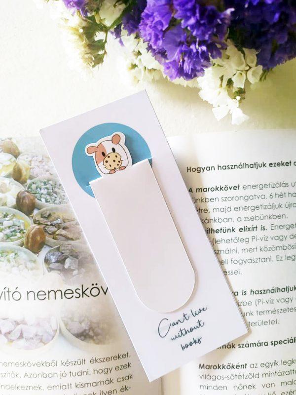 soadyart málna könyvjelző tengerimalac nem olvas a gyerek