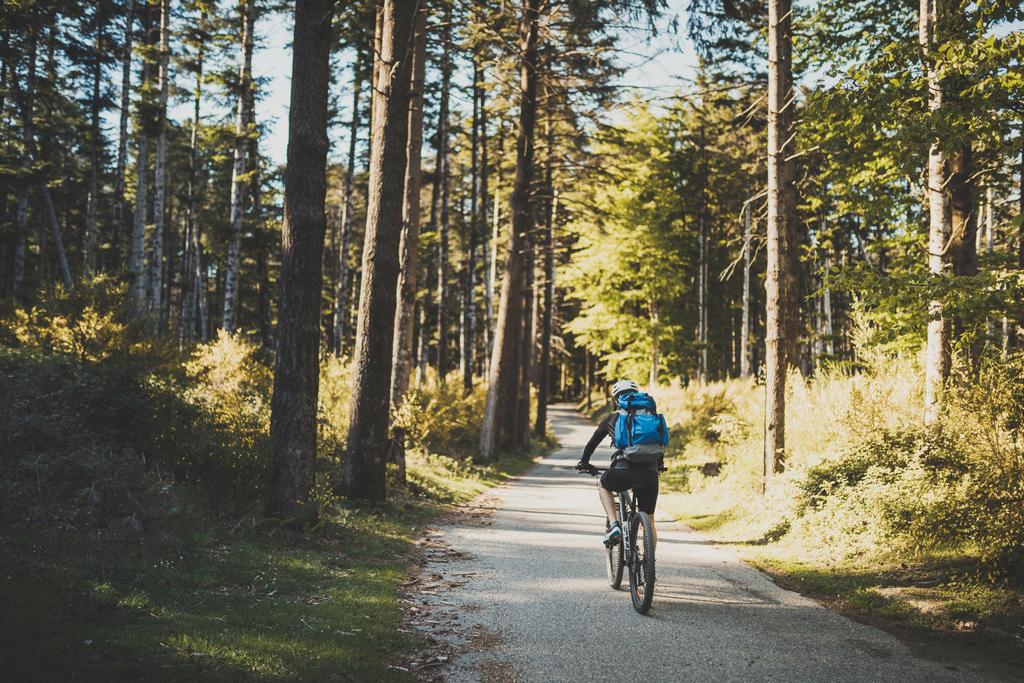A túrakerékpárral öröm a bringázás